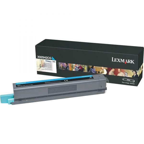 Lexmark X925H2CG Cyan High Yield Toner Cartridge