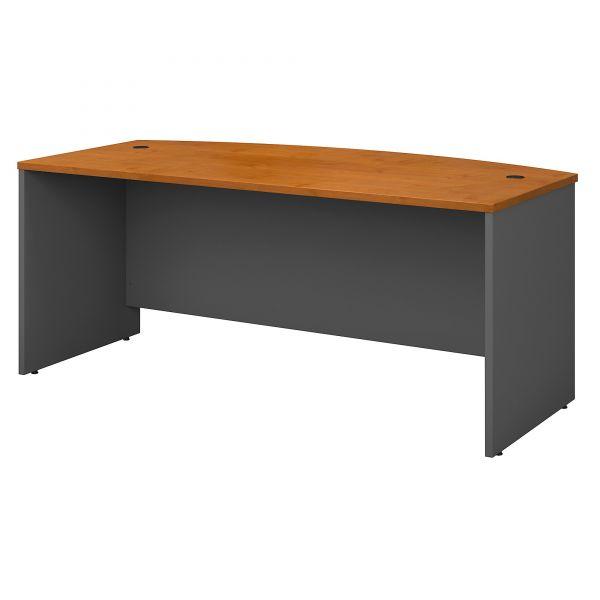 bbf Corsa Bowfront Desk Shell by Bush Furniture