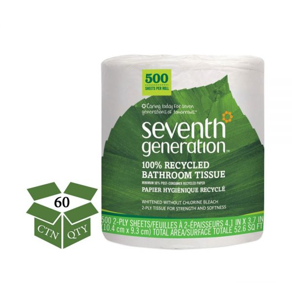 Seventh Generation 100% Recycled 2 Ply Toilet Paper