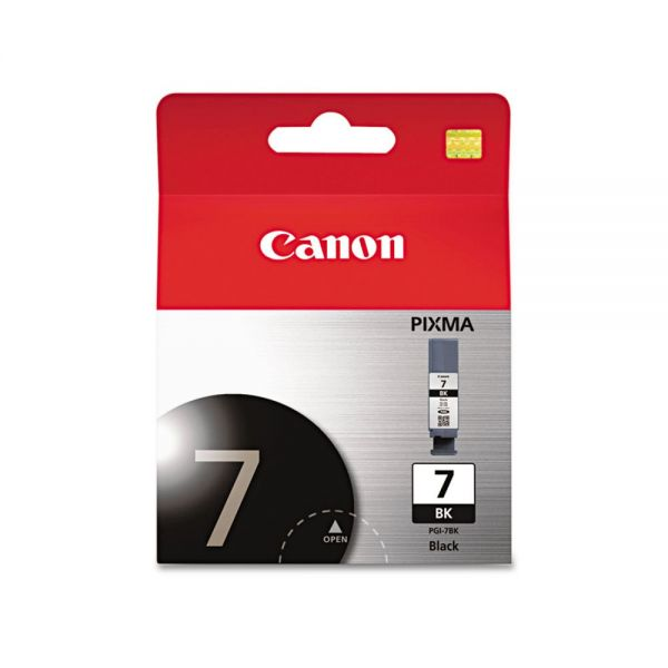 Canon PGI-7BK Black Ink Cartridge (2444B002)