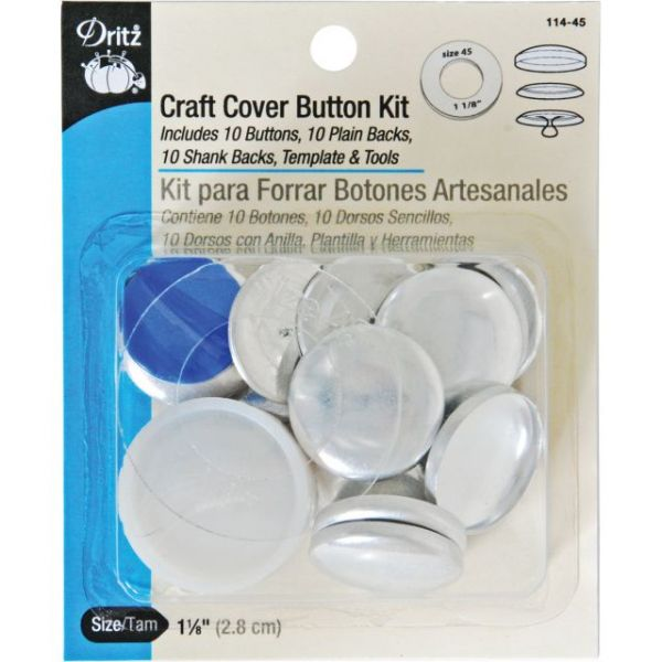Craft Cover Button Kits