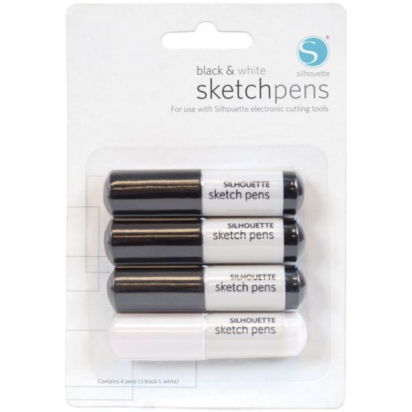 Silhouette Sketch Pens 4/Pkg