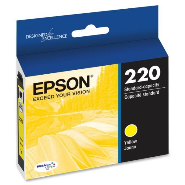 Epson 220 Yellow DURABrite Ultra Ink Cartridge