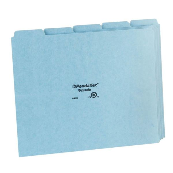 Esselte Top Tab Pressboard File Guides