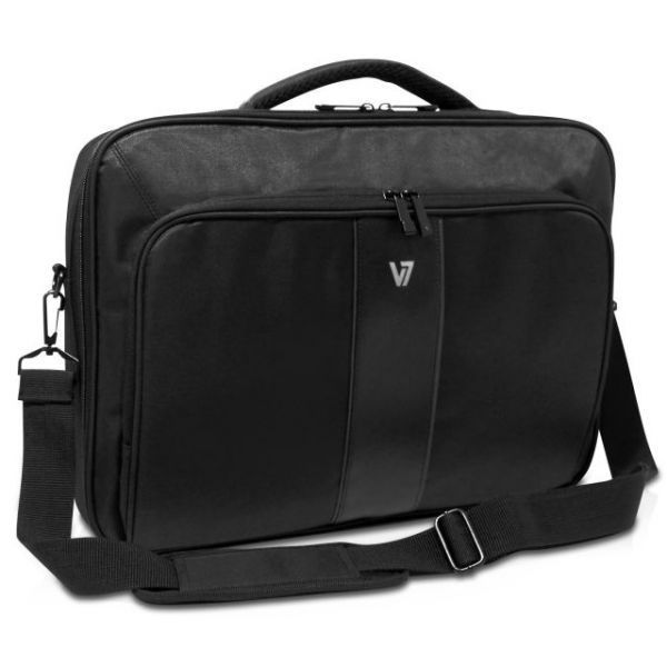 "V7 Professional CCP22-9N Carrying Case for 17"" Notebook, Tablet, Smartphone, Business Card, Pen, Key"