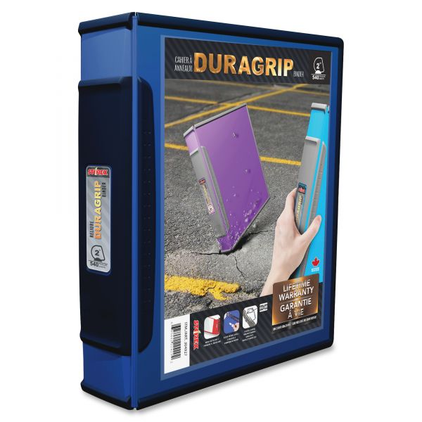 """Storex DuraGrip 2"""" 3-Ring Binder"""