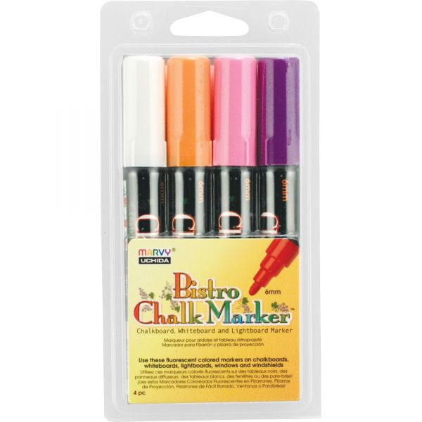 Marvy Uchida Bistro Erasable Chalk Markers