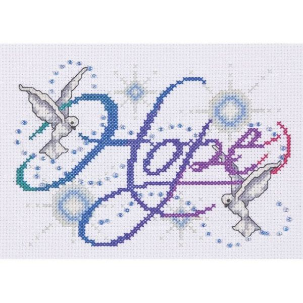 Hope Counted Cross Stitch Kit
