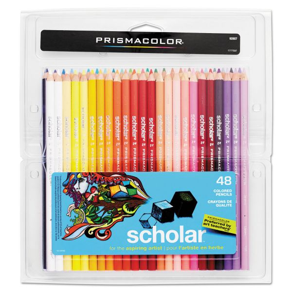 Prismacolor Scholar Colored Woodcase Pencils