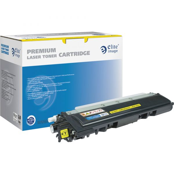Elite Image Remanufactured Brother TN210Y Toner Cartridges
