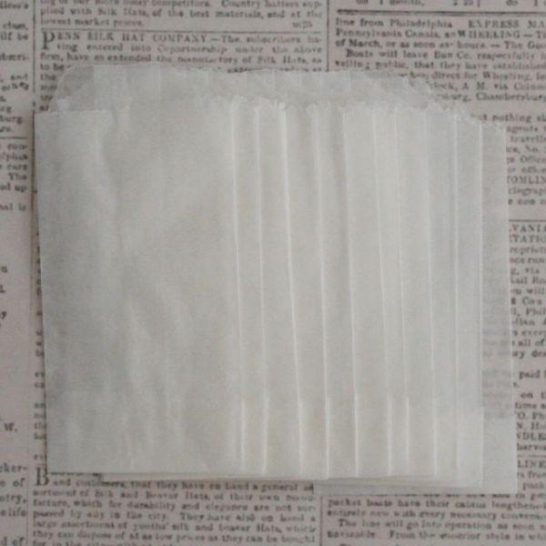 "Glassine Bags 2""X3.5"" 12/Pkg"