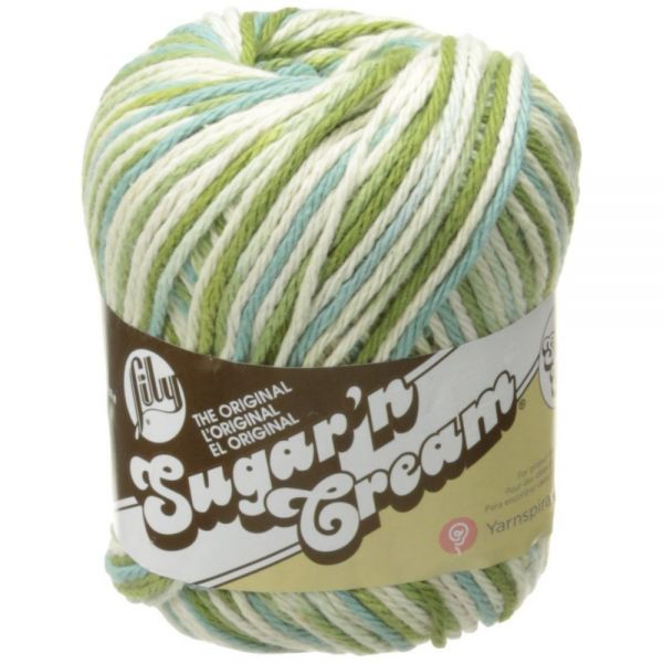 Lily Sugar'n Cream Super Size Yarn - Emerald Isle