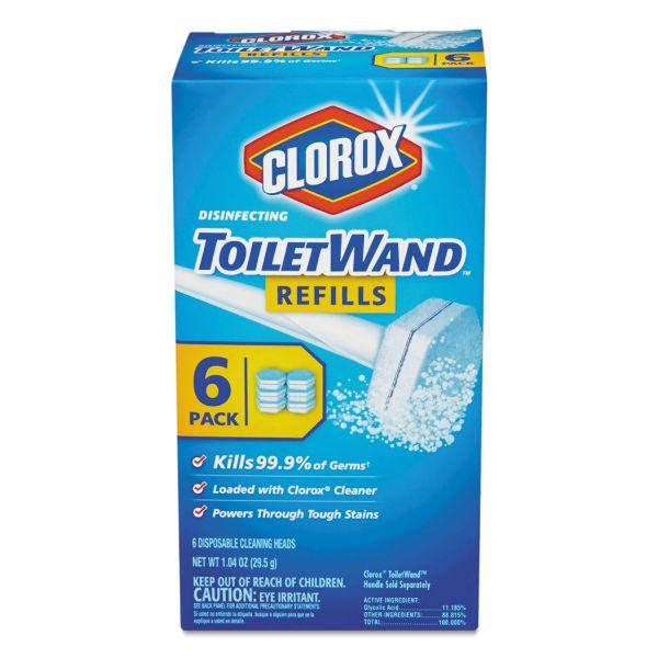 Clorox Disinfecting Toilet Wand Refills