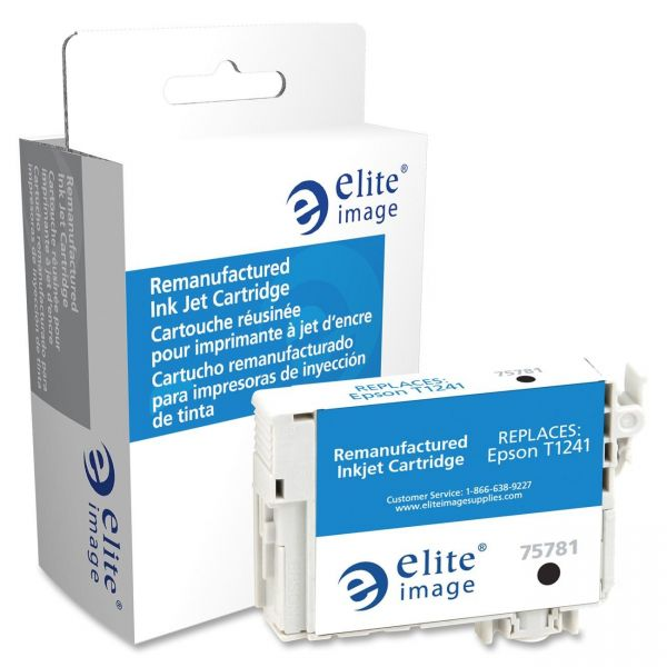 Elite Image Remanufactured Epson T1241 Ink Cartridge