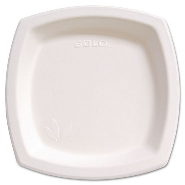 "SOLO Bare Eco-Forward 8.30"" Sugarcane Plates"