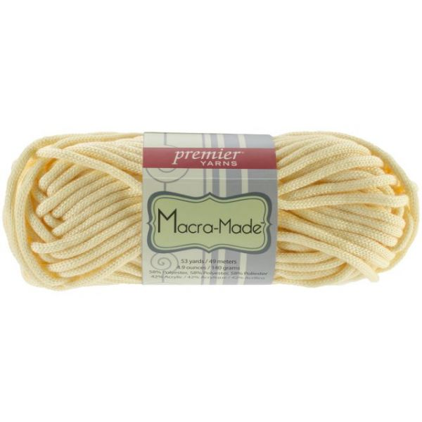 Premier Macra-Made Yarn - Butter