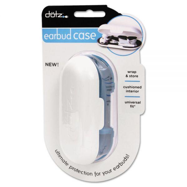 Dotz Hardshell Earbud Case, Blue