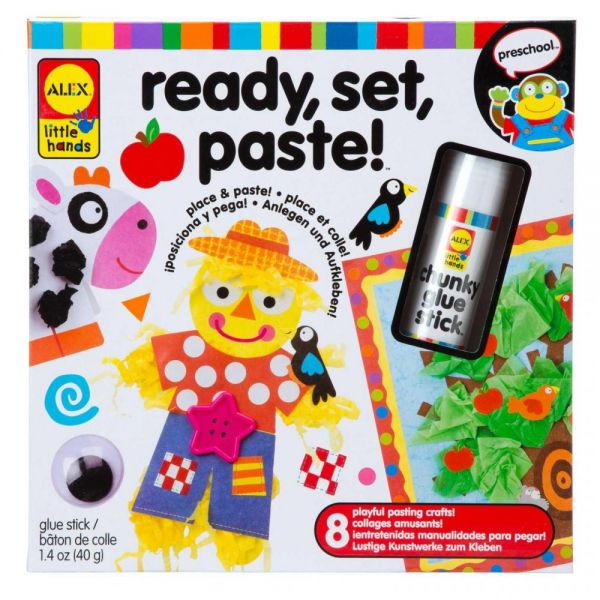 ALEX Toys Little Hands Ready, Set, Paste! Kit