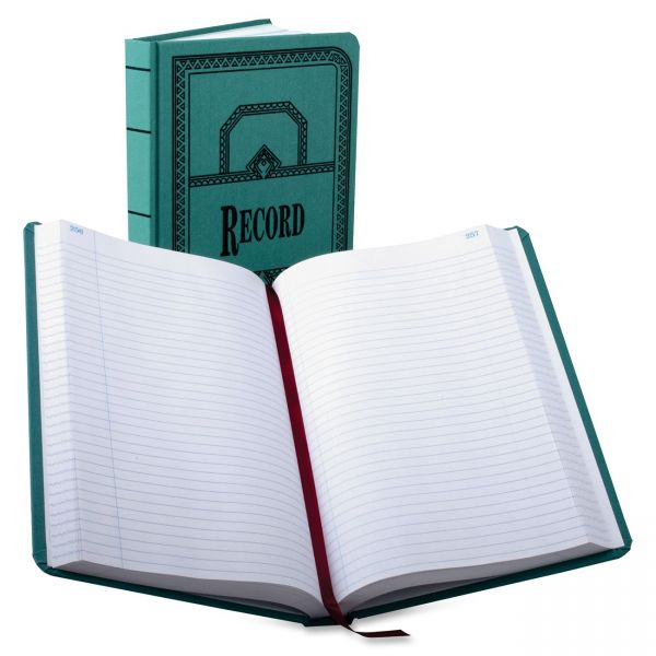 Boorum & Pease 66 Series Canvas Record Book