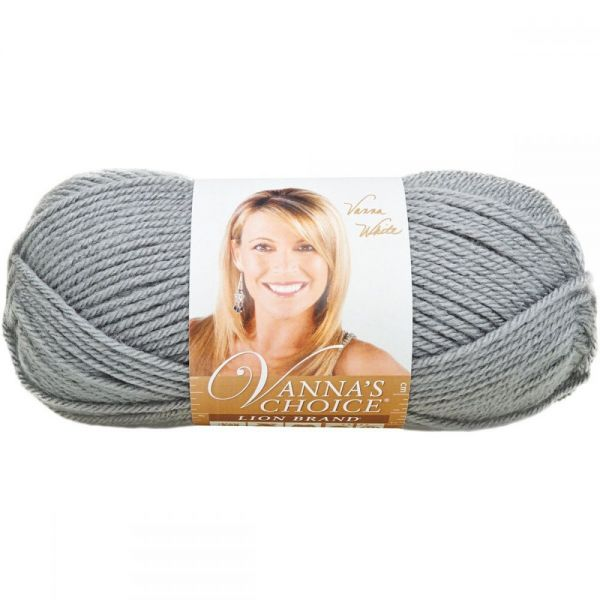 Lion Brand Vanna's Choice Yarn - Silver Gray