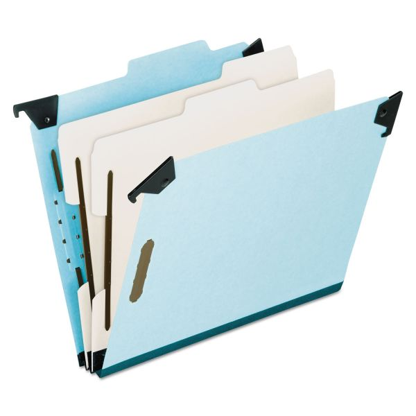 Pendaflex Blue Pressbrd Hanging Classification Folder
