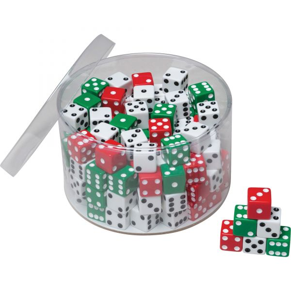 ChenilleKraft 144pc Tub of Dice