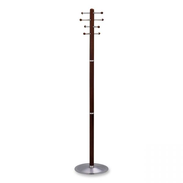 Safco Free-Standing Wood Coat Rack