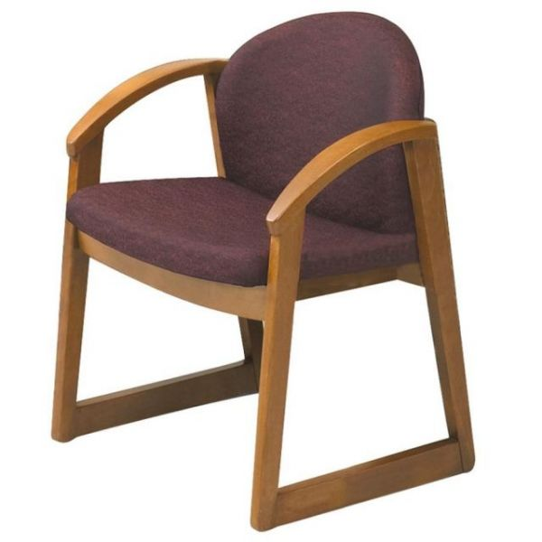 Safco Urbane Collection Guest Chair With Arms