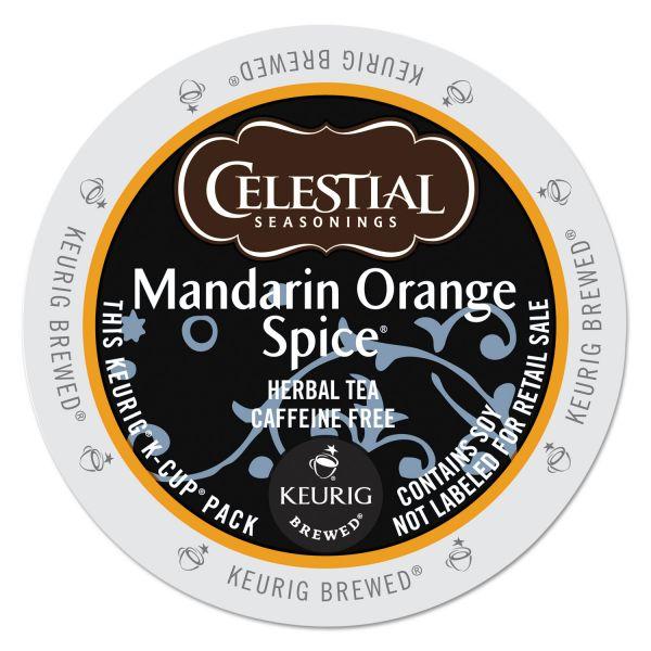 Celestial Seasonings Mandarin Orange Spice Herbal Tea K-Cups