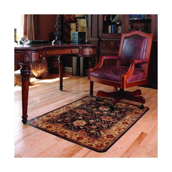 Deflect-o Harbour Pointe Collection Decorative Medium Pile Chair Mat