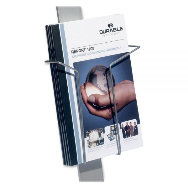 Durable InfoBase Duo Sign Stand Literature Holder