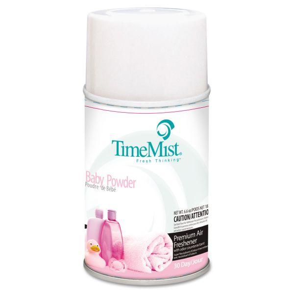 TimeMist Metered Fragrance Dispenser Refill, Baby Powder, 6.6 oz, Aerosol
