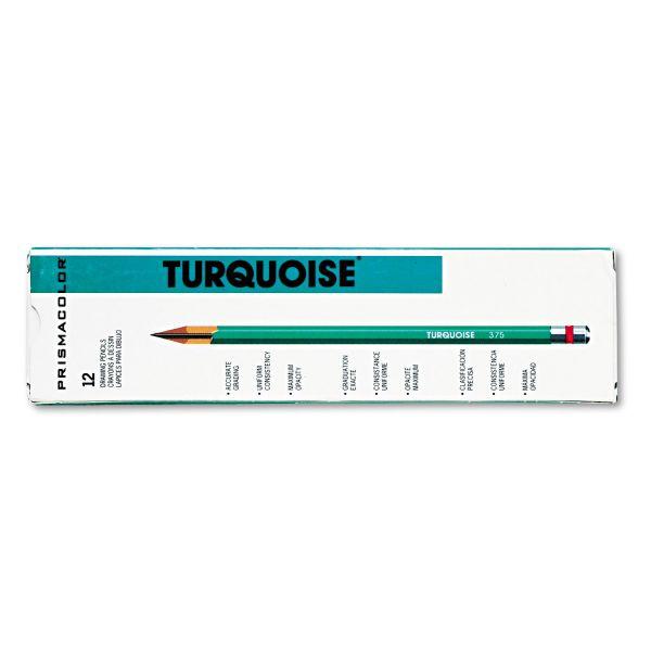 Sanford Turquoise Wood Pencil