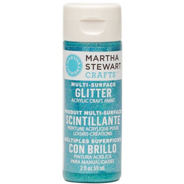 Martha Stewart Glitter Acrylic Craft Paint 2oz