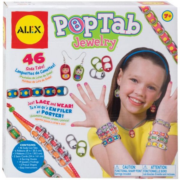 ALEX Toys Do-It-Yourself Pop Tab Jewelry Kit
