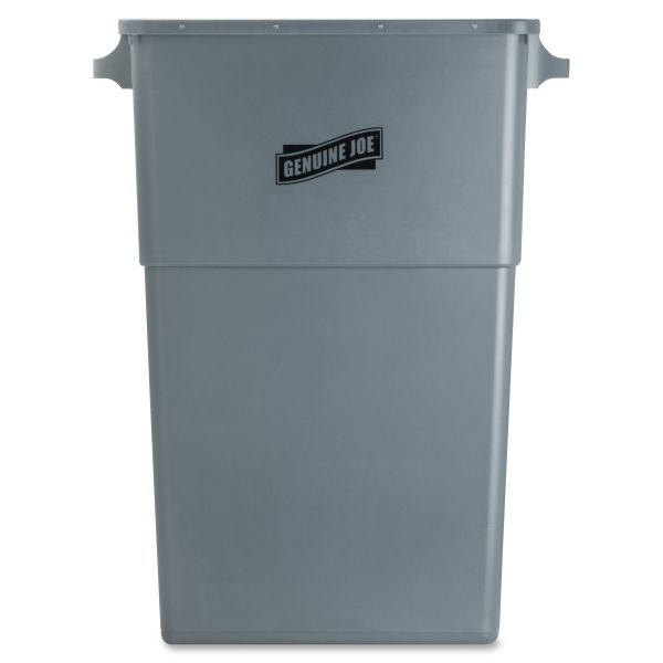 Genuine Joe Space-Saving 23 Gallon Trash Can