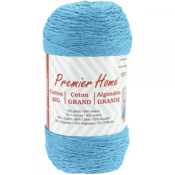 Premier Home Cotton Grande Yarn - Turquoise