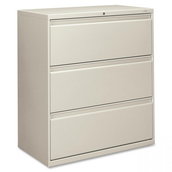 HON Brigade 800 Series 3-Drawer Lateral File Cabinet