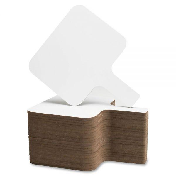 Flipside Rectangular Dry Erase Answer Paddle