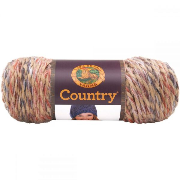 Lion Brand Country Yarn - Hampton Sunset
