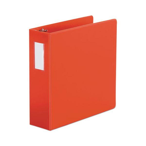 "Universal 3-Ring Binder, 3"" Capacity, D-Ring, Red"