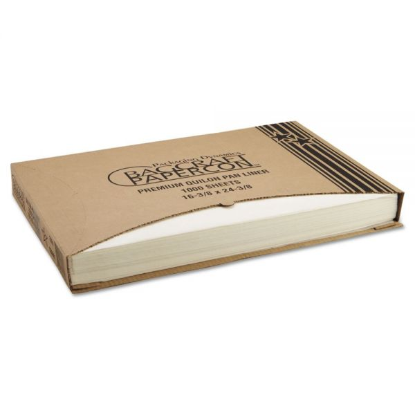 Bagcraft Papercon Grease-Proof Quilon Pan Liners
