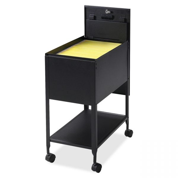 Lorell Standard Mobile File Cart