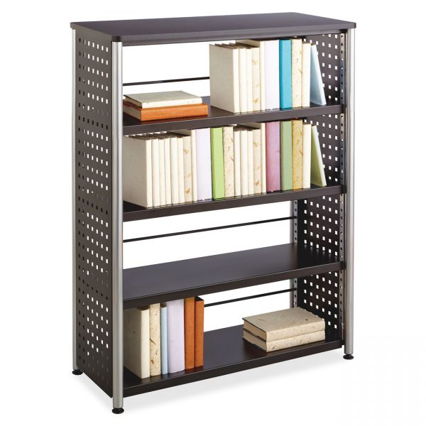 Safco Scoot Contemporary Design 4-Shelf Bookcase