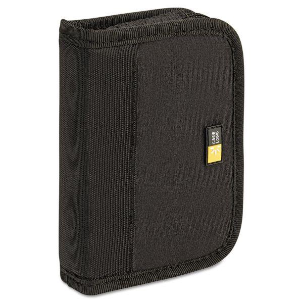 Case Logic Media Shuttle, Holds 6 USB Drives, Black