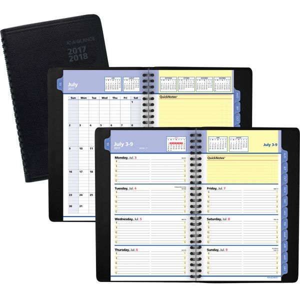 At-A-Glance QuickNotes Weekly/Monthly Academic Appointment Book