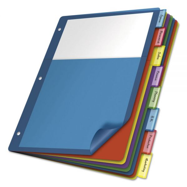Cardinal 1-Pocket Index Dividers