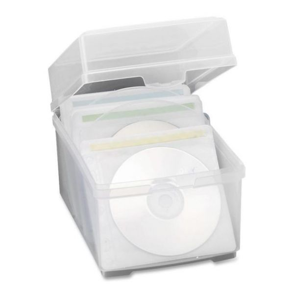 Compucessory CD/DVD Sleeves Storage Box