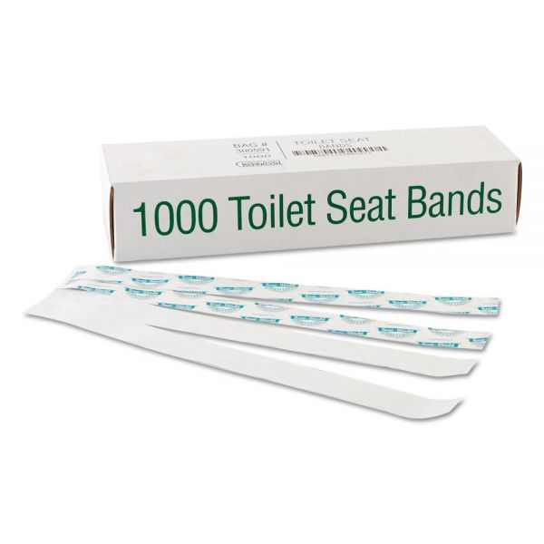 Bagcraft Sani/Shield Printed Toilet Seat Bands