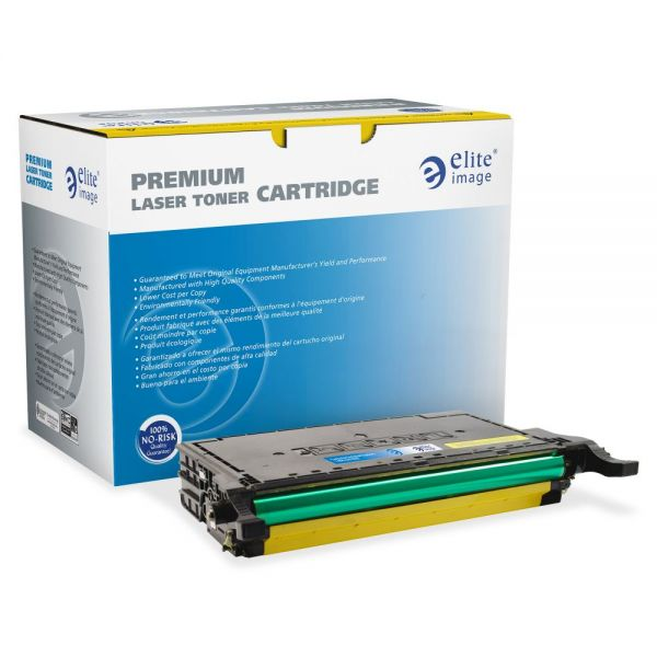 Elite Image Remanufactured Samsung CLP670Y Toner Cartridge
